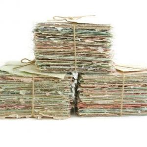 Llama Fibre Paper