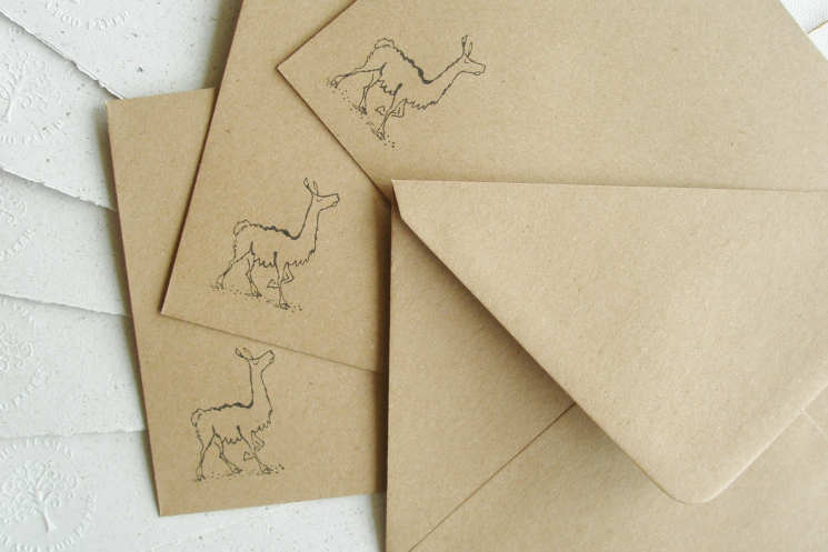 letter set llama