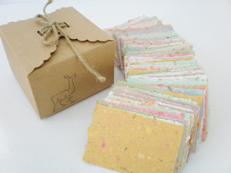 Handmade Recycled Paper