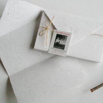 Llama Fibre Paper Lettergrams. 4 Hand-made Recycled Paper ... with llama Fibre! Handmade Letter Paper