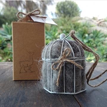 Gift Boxed, Native Bird Nester, Alpaca Fibre, Small Nester, Wedding favor, Country Wedding Decor, Nesting Material, Gardener Gift, Xmas Gift