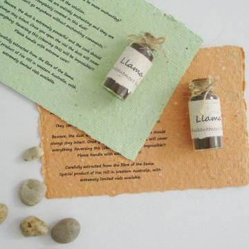 Llama Enchantment Dust, Funny Gift, Secret Santa, Novelty Gift, Office Gift, Weird Gift, Cheeky Gift, Llama Gifts, Llamas, Under 20, Gift