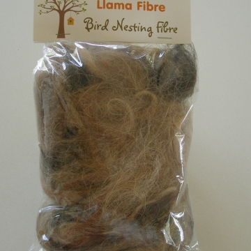 6 x Bird Nesting Fibre, Llama, Wildlife Nesting Material, Nest Filler, Native Animals, Bird Nester Refill, Aviary Supplies, Fly Fishing DIY
