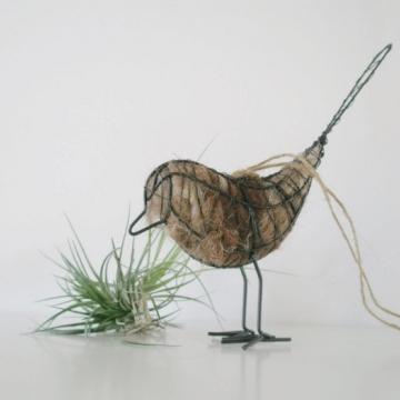 5 x Native Bird Nesters. Wholesale Wire Bird with Llama Fibre Nesting Material,  Garden Gifts, Spring Gift, Eco friendly, Native Birds