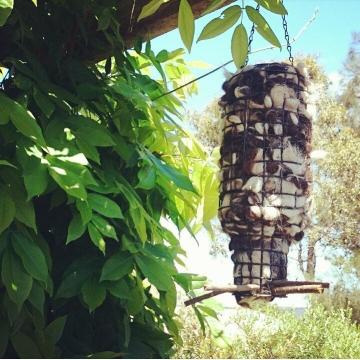 XL Bird Nester, Alpaca Fibre. Nesting Material to Attract Native Birds to your Garden, Mother's Day Gift, Nature Play, Eco Garden, Yard Idea