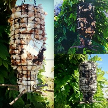 Bird Nester XL, Alpaca Fibre. Nesting Material to Attract Native Birds to your Garden, Bird Lover Gift, Bird Gifts, Gift Idea, Organic, Eco