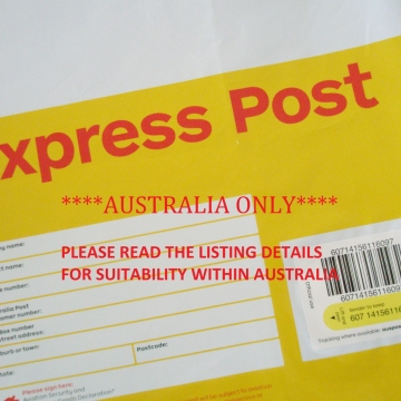 EXPRESS POST UPGRADE within Australia
