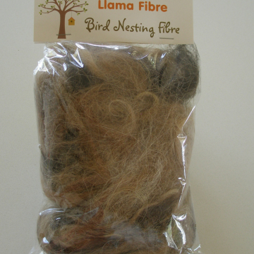 Llama Fibre - Bird Nesting Material, Organic, Nesting Refill, Natural bedding, Wildlife bedding, Nature Garden, Native Animal Bedding
