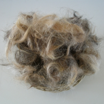 Llama Fibre - Bird Nesting Material, Organic, Nesting Refill, Natural bedding, Wildlife bedding, Nature Garden, Native Animal Bedding