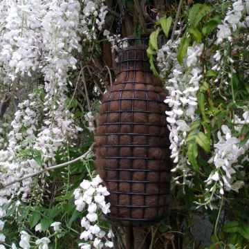Bird Nester, Alpaca Fibre. Nesting Material to Attract Native Birds to your Garden - EXTRA LARGE, Mother's Day, Nature Play, Eco Garden