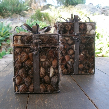 Large Gift Box Bird Nester