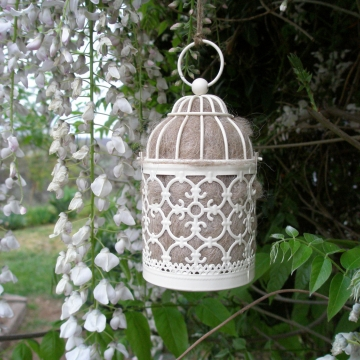 Bird Nester, Llama Fibre. Nesting Material to Attract Native Birds to your Garden. Outdoor lantern, Mother's Day, Gift Idea. Gift for Mum
