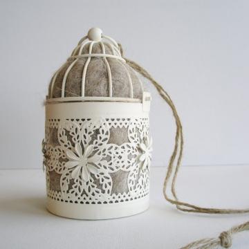 Moroccan Lantern, Bird Nester, Llama Fibre. Nesting Material to Attract Native Birds to your Garden,  Outdoor lantern, EcoFriendly Gift