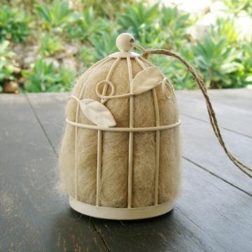 Native Bird Nester, Bird Nesting Fibre, Llama, Alpaca, Nester, Nesting Material, Wildlife Nester, Garden Decor, Nature Garden, Garden Gifts