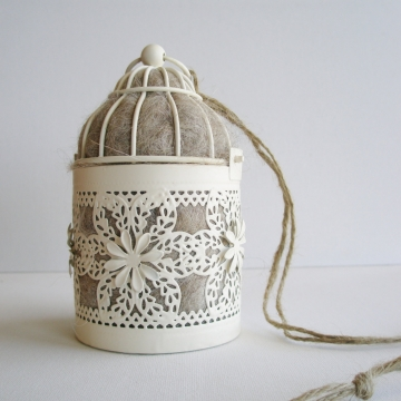 Moroccan Lantern, Bird Nester, Llama Fibre. Nesting Material to Attract Native Birds to your Garden, eco,  Outdoor lantern, EcoFriendly Gift