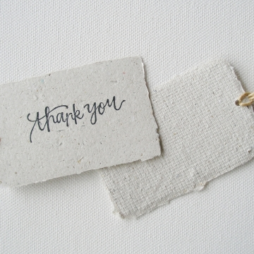 8 THANK YOU Llama Poo Tags, Recycled Gift Tags / Swing Tags with Deckle Edge for Eco Friendly Gifts, Llama Gifts, Llama Products, Organic