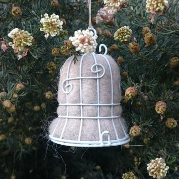 Wedding Bell, Bird Nester, Llama Fiber Nester