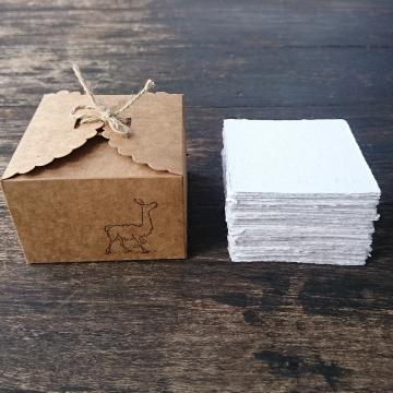 Alpaca Fibre Note Paper