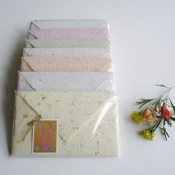 Handmade Lettergrams - Handmade Writting Paper - Recycled Writing Paper - Handmade Letter Paper - Recycled Letter Paper - Handmade Stationery