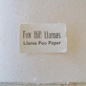 Llama Poo Paper