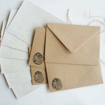 """7x5"""" Llama Poo Paper Letter Set - No. 11"""